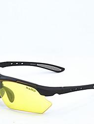 unisex de cyclisme d 'des lunettes de sport 100% uv de randonnée