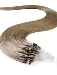 neitsi® 20inch micro anneau boucles extensions de cheveux humains sonne cheveu humain 10 #