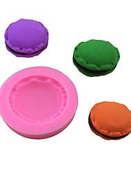 Macaron Style Sugar Candy Fondant Cake Molds  For The Kitchen Baking Molds