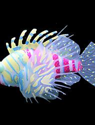 Aquário Decoração Ornamentos / Peixe Artificial Artificial / Atóxico & Sem Sabor Plástico