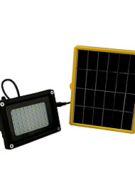 HRY® 54XSMD3528 LEDS Light-Control Cool White Color Garden Pathway LED Solar Yard Lights Solar Flood Light
