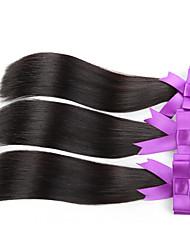 3pcs / lot recto de cabello barato peruano del pelo sin procesar virginal del pelo humano armadura peruana haces de pelo recta peruana