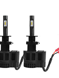 2PC 55W Lamando Car LED HeadLight Bulbs Tourage Car LED Headlight Kit H1 H3 H7 H11 Car LED Headlight