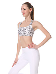 Yokaland®Yoga Tops / Sujetadores Secado rápido / Capilaridad / Reductor del Sudor Eslático Ropa deportiva Yoga / Pilates / Fitness Mujer