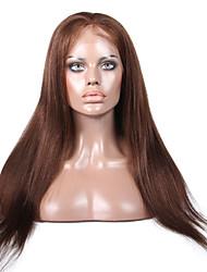 Da 8 a 24 pollici di parrucche dei capelli umani brasiliani luce yaki parrucche glueless per le donne nere
