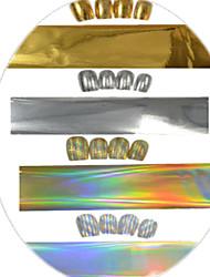 Gioielli per unghie-Astratto- perDito / Dito del piede- diPlastica / Altro-1pcs-100cm