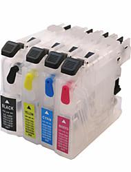 Bloom® navulbare inktpatroon voor DCP-j4120dw mfc-j4320dw mfc-j4420dw mfc-j4620dw (j4120dw j4320dw j4420dw)