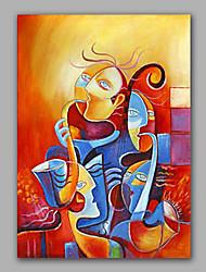 абстрактные кисти масло для тела обрамленная стены искусства