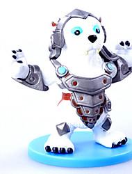 Cartoon Doll Hero 4 Generation 6 Version of A Full Set of Shindelar Knight Bear Toys 6PC 8cm