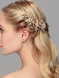 Women's Pearl Headpiece-Wedding Special Occasion Casual Office & Career Outdoor Hair Pin 1 Piece