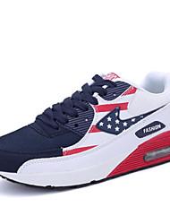 Turnschuhe Damen Schuhe Tüll Blau / Rot