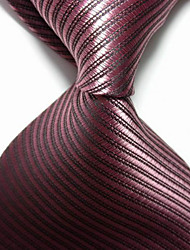 New Striped Pulm JACQUARD WOVEN Men's Tie Necktie TIE2052