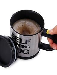 Self Stirring Coffee Mug Double Insulated Coffee Cup 400 ML Automatic Electric Coffee Cups Smart Mugs Mixing Coffee Cup