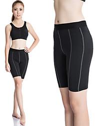 Mujer Shorts de running Secado rápido Compresión Reductor del Sudor Ropa de Compresión Cortados Medias/Mallas Largas Leggings para Yoga