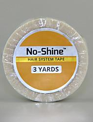 sem brilho colagem de fita walker 3 jardas a base forte de cola de adesivos para o laço frontal peruca 1,9 centímetros de largura promoção
