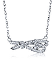 925 Sterling Silver Jewelry Necklace Pendant Jewelry Female Clavicle Chain Perfect Gift for Girls