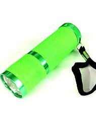 Iluminação Lanternas LED LED 50 Lumens 1 Modo LED AAA Tamanho Pequeno Campismo / Escursão / Espeleologismo / Uso Diário Liga de Aluminio