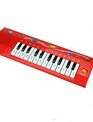 Electronic Organ Music Toy Plastic Red / Black / White