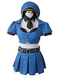 Cosplay-Bleu-Costumes de cosplay-Autre- pourFéminin