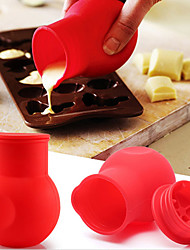 Silicone Chocolate Melting Pot Melt Butter Heat Milk Pourer Jug Kitchen Tool