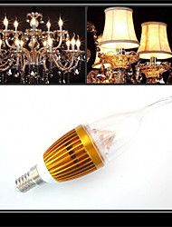 HRY® 3W E14 300-350LM LED Candle Lights LED Light Bulbs(220V)
