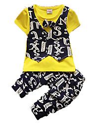 Boy's Cotton Clothing Set,Summer Short Sleeve