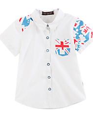 Boy's Cotton Shirt,Summer / Spring