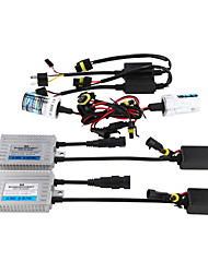 12V55W HID Ballast QSP One Second Headlight Bulb Retrofit Kit H7 3000K 4300K 5000K 6000 8000K