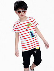 Boy's Cotton Tee / Pants,Summer Short Sleeve