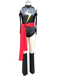 Female Multicolor Cosplay Cosplay Costumes Leotard / Gloves / Belt / More Accessories