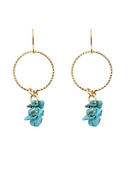 Earring Drop Earrings Jewelry Women Wedding / Party / Daily / Casual / Sports Alloy / Resin 1 pair Gold