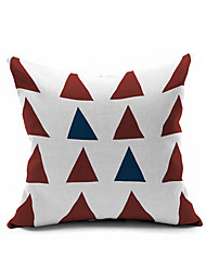 Cotton/Linen Pillow Cover , Nature Modern/Contemporary Pillow Linen Cushion