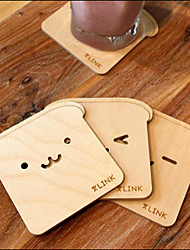 1Pcs Heat Resistant Japanese Cute Bears Brich Coasters Cup Mat