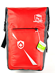 Bolsa para Guardabarro / Bolsa Maletero/Bolsa Lateral(Rojo,Nilón)Impermeable / A prueba de lluvia / A prueba de polvo / Antideslizante /