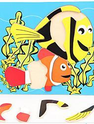 цвет древесины головоломки подводный мир