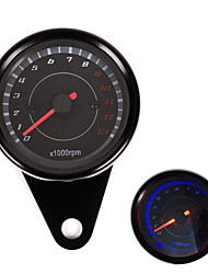 Iztoss Motorcycle Speedometer Tachometer Odometer Rev Counter 0-13000 RPM
