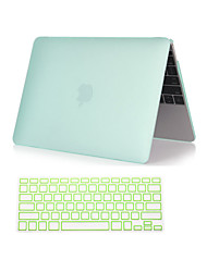 "Case for Macbook Air 11.6""/13.3"" Solid Color ABS Material New 2 in 1 Matte Plastic Hard Full Body Case with Keyboard Cover"