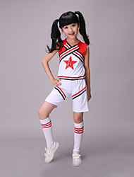 Accesorios(Multicolor,Poliéster,Vestidos de Cheerleader) -Vestidos de Cheerleader- paraNiños Plisado Representación