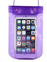 pvc caixas secas impermeável material adequado para celular iphone para mergulho / natação / pesca 18,5 * 12,3 centímetros