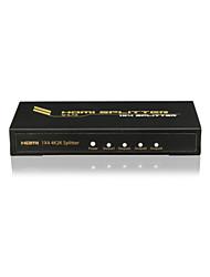 hdmi splitter 1x4 cec support v1.4 premium, hdcp, 4Kx2K avec CE FCC certificats de rosh