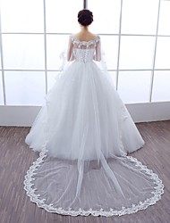 Wedding / Party/Evening Lace / Tulle Shrugs Sleeveless Wedding  Wraps
