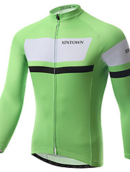 XINTOWN Three Colors Outdoor Short Sleeve Long Wear Cycling Jersey Bike Jersey for Mountain Bike Riding Racing