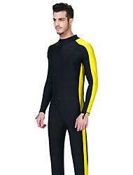 Andere Herrn Tauchanzüge / Schutz gegen Hautausschlag / Wetsuit, zweite Haut Taucheranzug UV-resistant Dive Skins 3-3,4 mmGelb / Blau /
