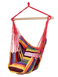 SWIFT Outdoor® Portable High Strength Rainbow Outdoor Garden Indoor Hammock Hanging Chair