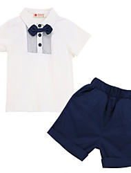 Boy's Cotton Clothing Set,Summer / Spring