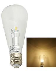 1 шт. YouOKLight E26/E27 6W 12 COB 480 lm Тёплый белый B edison Винтаж LED лампы накаливанияAC 85-265 / AC 220-240 / AC 100-240 / AC