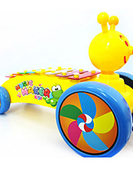 Knock On The Piano Plastic Colourful Music Toy For Kids