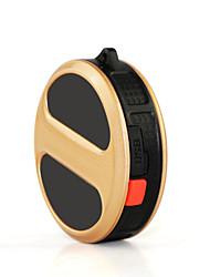Chien GPS Colliers Etanche / piles comprises / GPS Noir / Or Plastique