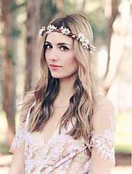 boho hair accessoriesrustic  white daisy crown bridal headband wedding headpiece bridal headpiece  flower headband