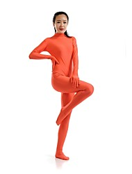 Zentai- paraUnisex-Disfraces Zentai-Licra / Spandex-Naranja-
